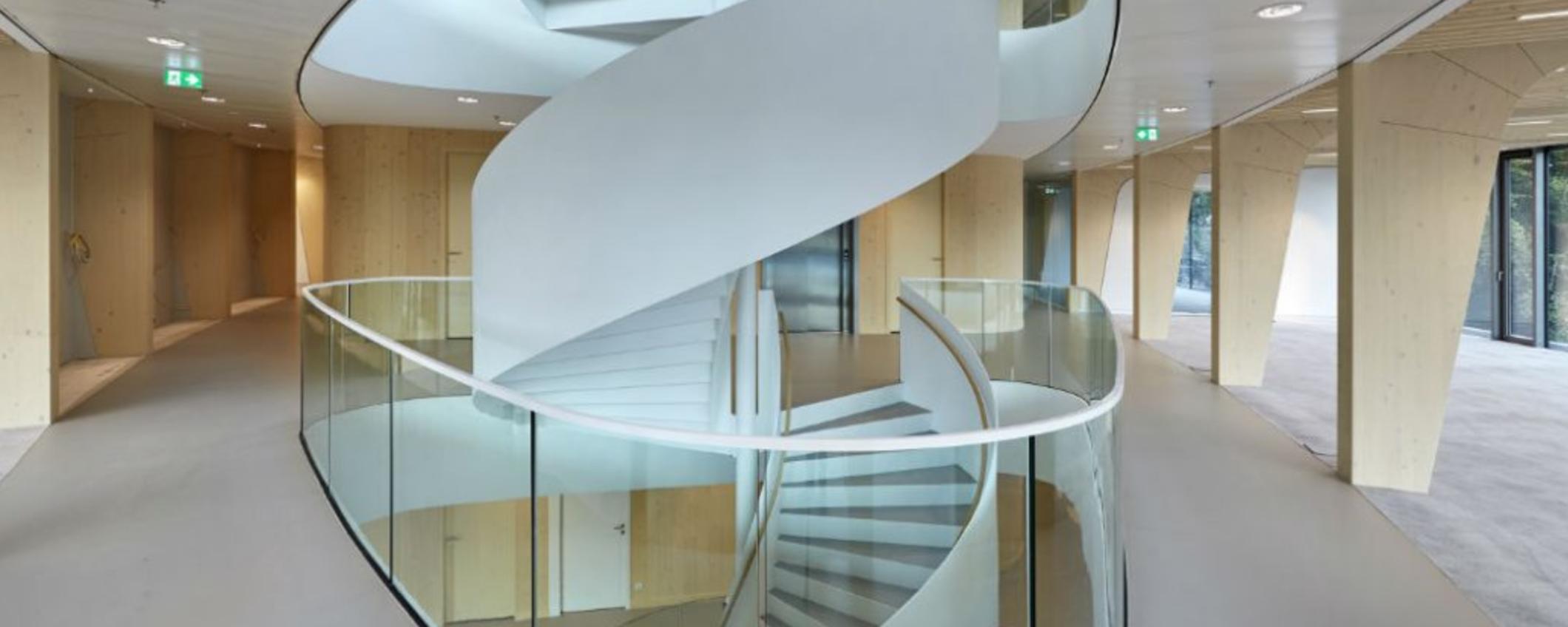 Escaleras - Nuevo edificio de Triodos Bank